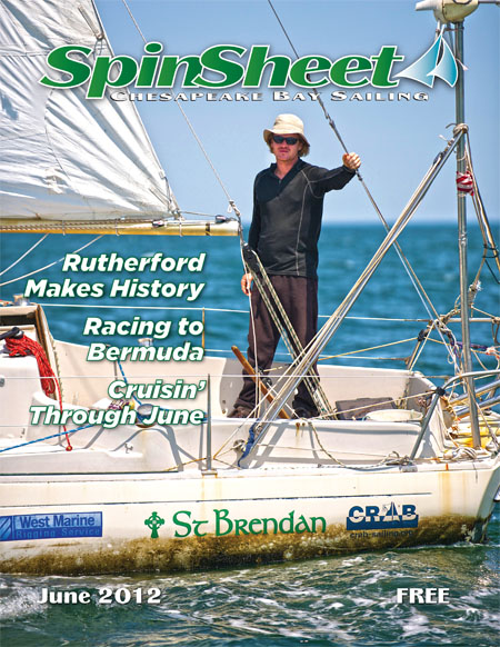 Matt Rutherford makes history.. and the cover of SpinSheet in 2012.