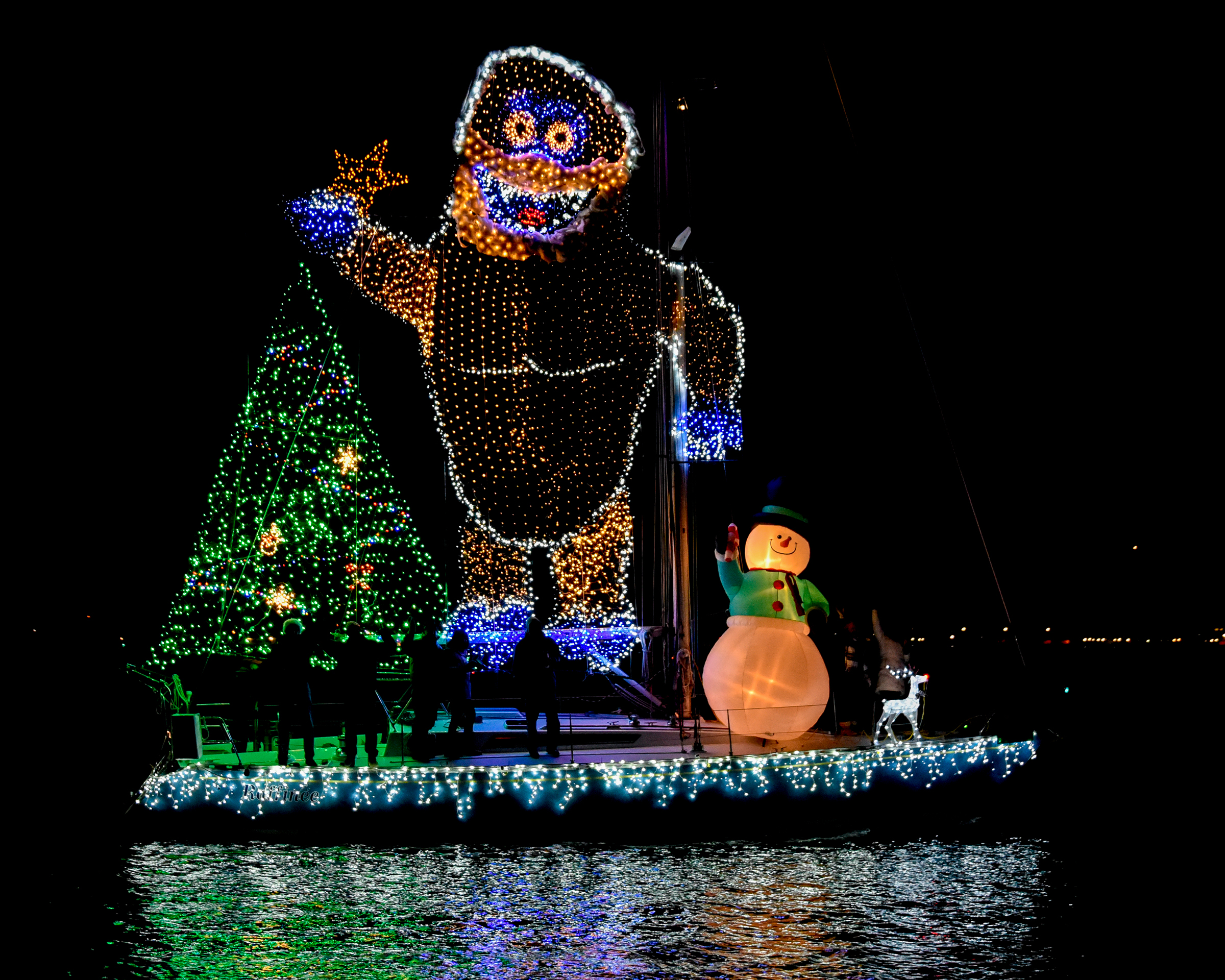 Lighted Boat Parades on the Chesapeake Bay