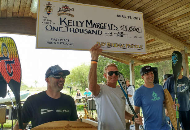 $1,000 goes to Kelly Margetts! (from the Bay Bridge Paddle FB page)