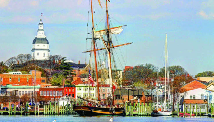 NSHOF brings beautiful boats such as the Pride of Baltimore II to City Dock