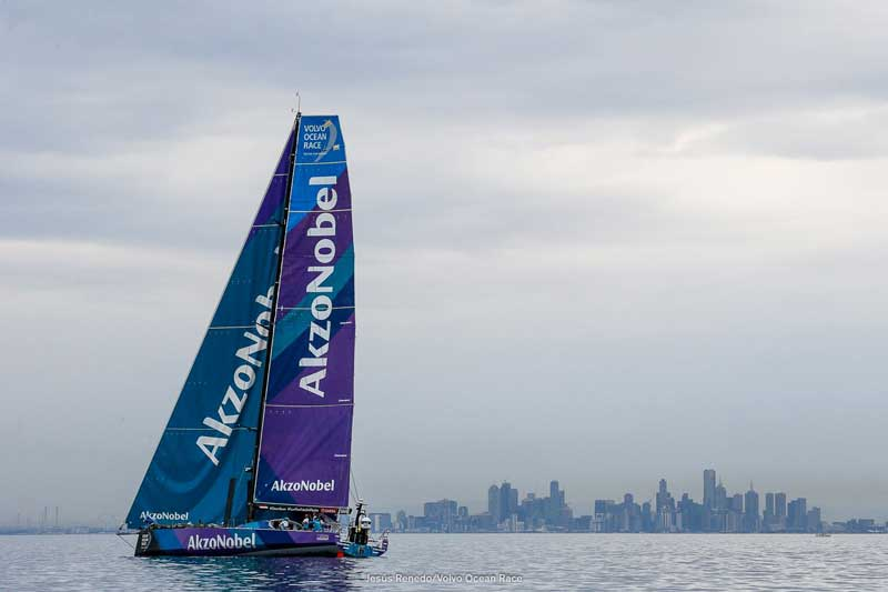 Enter to win a trip to Newport! Photo courtesy Volvo Ocean Race