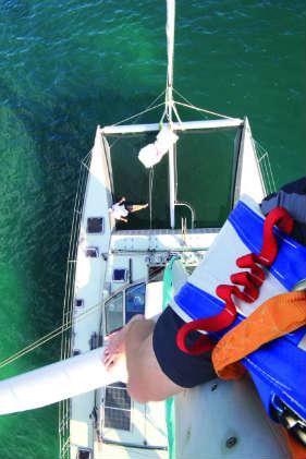 Aloft on Elcie (circumnavigation prep tips)