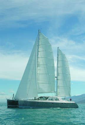 Elcie under sail. (circumnavigation prep tips)