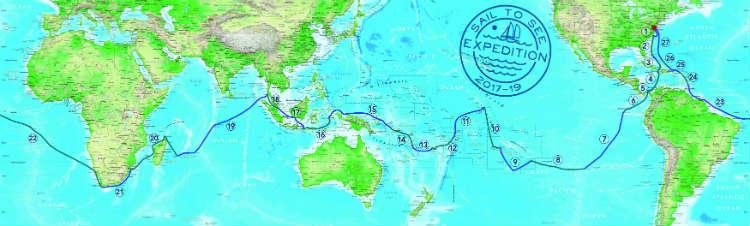 The route! (seven circumnavigation prep tips)