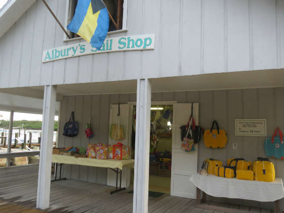 Albury's Sail Shop on Man O'War Cay