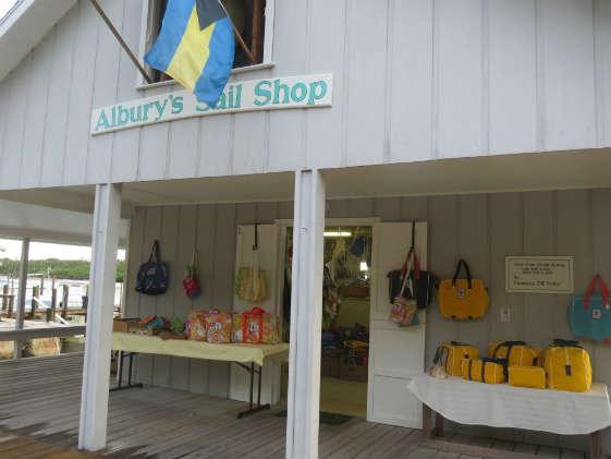 Albury's Sail Shop on Man O'War Cay