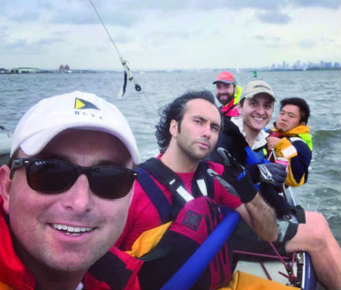 The author and his BCYA Summer Sailstice crew.