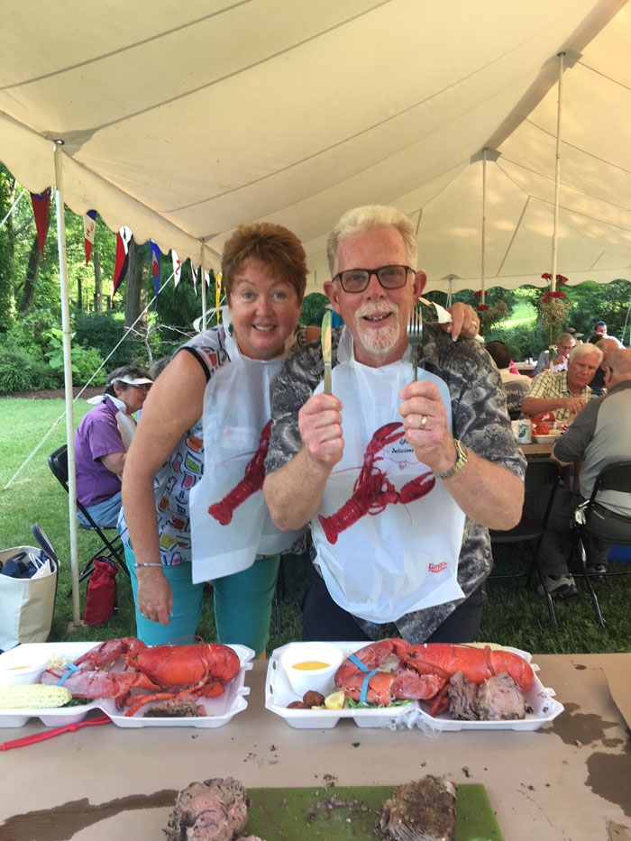 Back Creek Yacht Club Lobster Feast