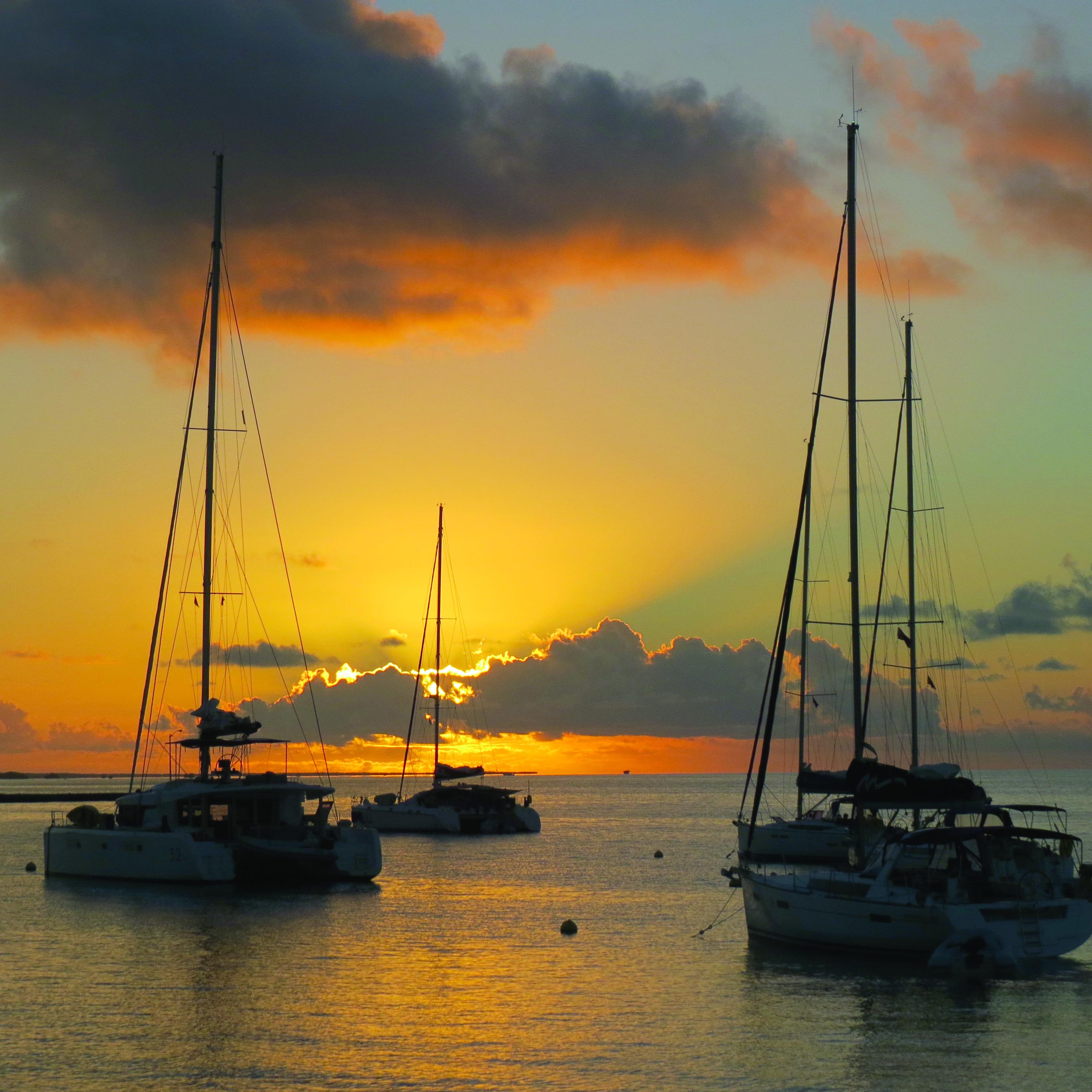 BVI charter sunrise