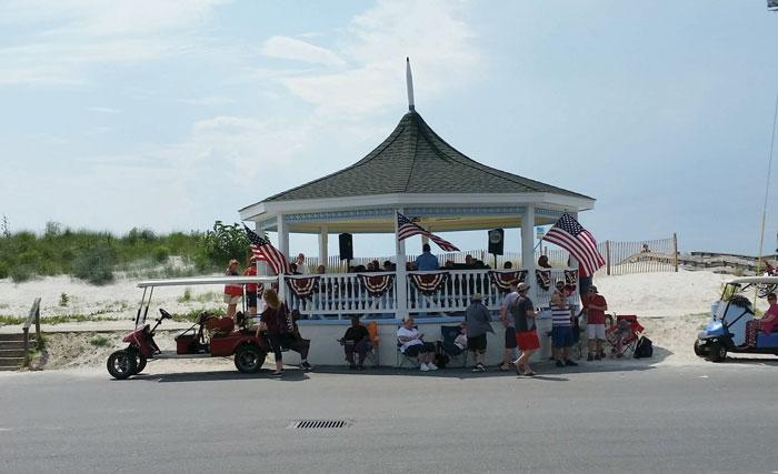 Bandstand at Cape Charles, VA. Photo by Kathy Wright