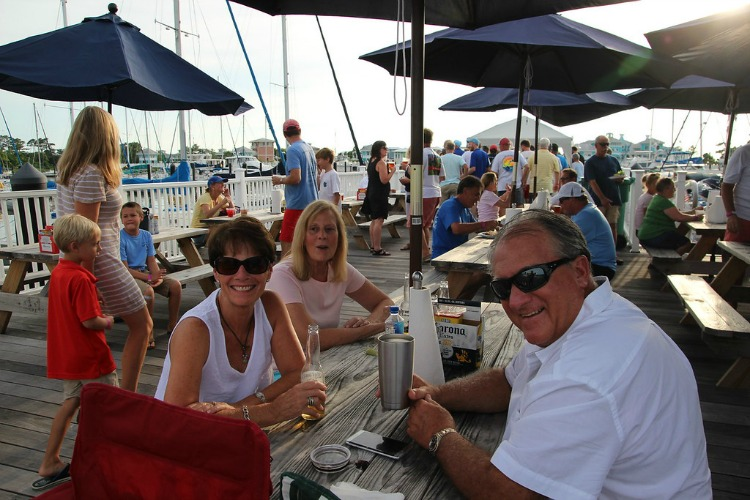 Party at Cape Charles. Photo by Eric Brinsfield