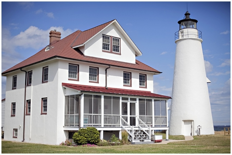 Cove Point Lighthouse Keepers House Outside