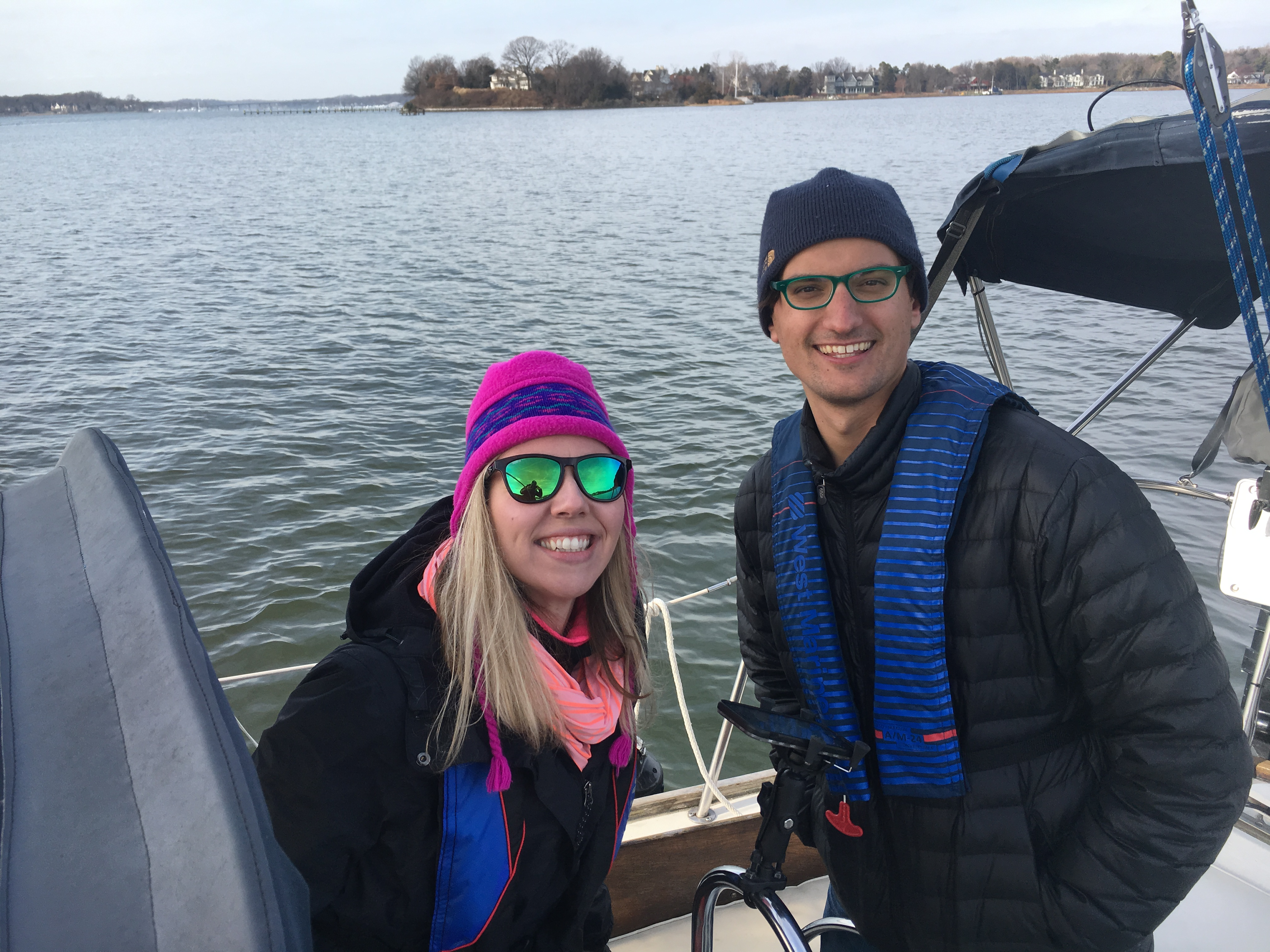 Sailing in the cold