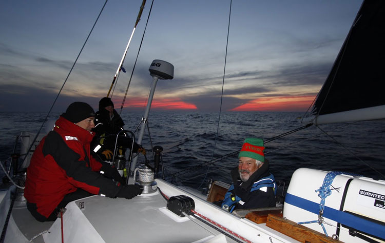 It gets chilly at night racing in the 2017 MHOR. Photo courtesy of Ted Steeble