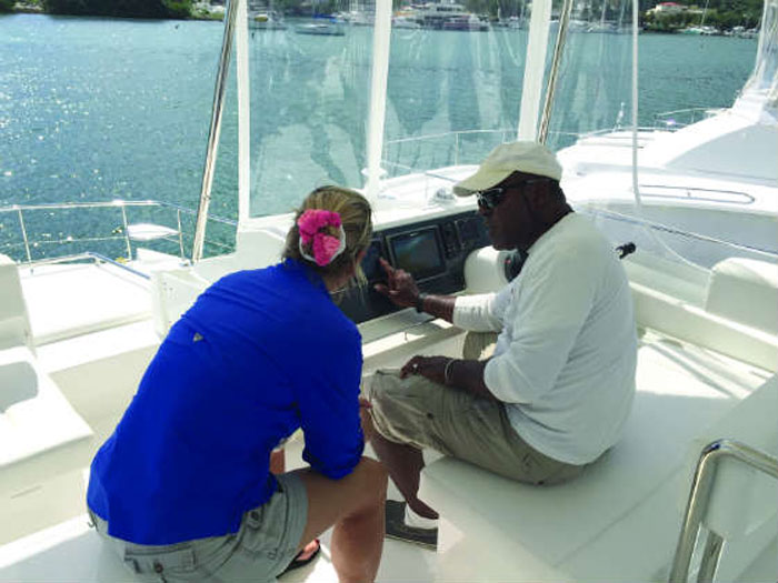 Don't let the base personnel off the deck until you know everything about the boat you'll be chartering.