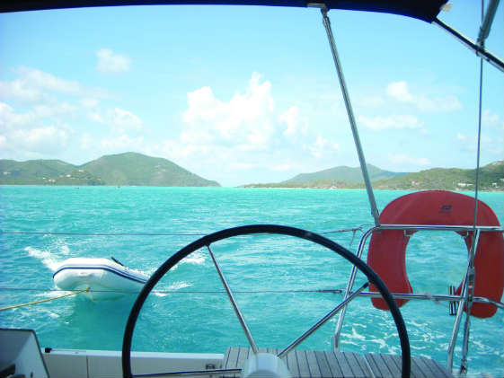 Chartering in the BVI. Photo by Molly Winans/ SpinSheet