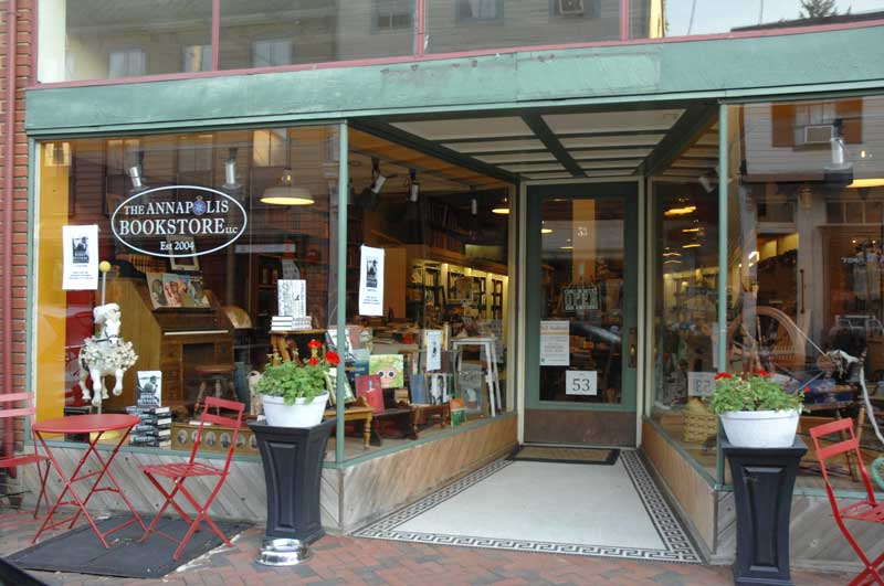 The Annapolis Bookstore on Maryland Avenue.