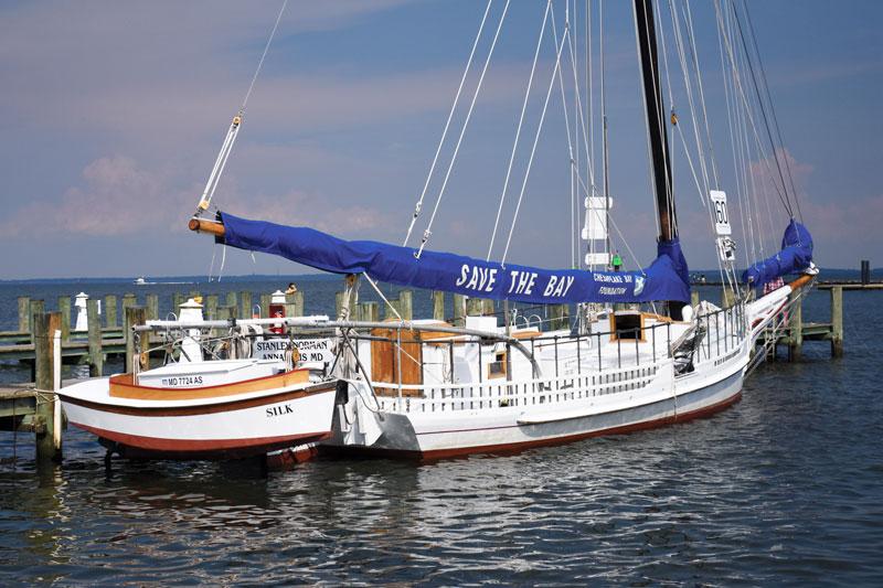 Chesapeake History The Skipjack Stanley Norman