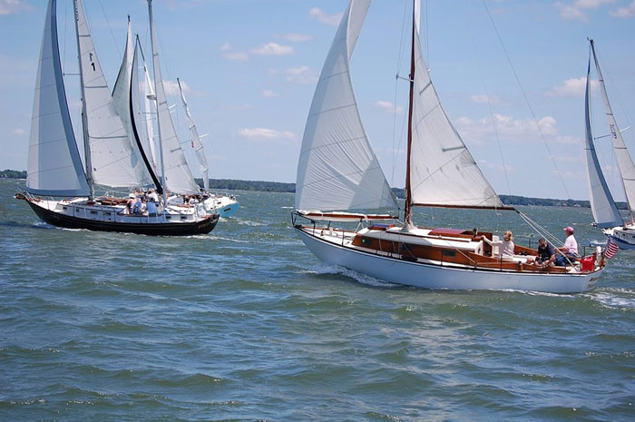 The Dickersons Owners Association invites all Chesapeake Classic Sailboats to its Classic Regatta
