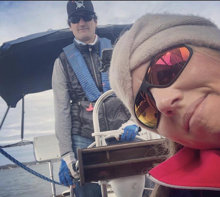 Sailing as a couple