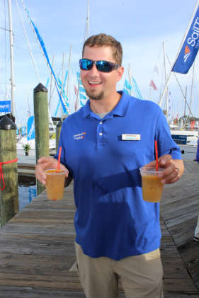 Painkillers at the U.S. Sailboat Show