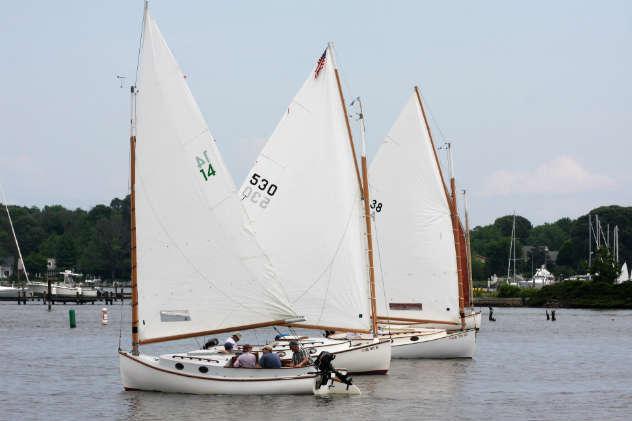 WRSC Catboat Heritage Regatta photos by Will Keyworth