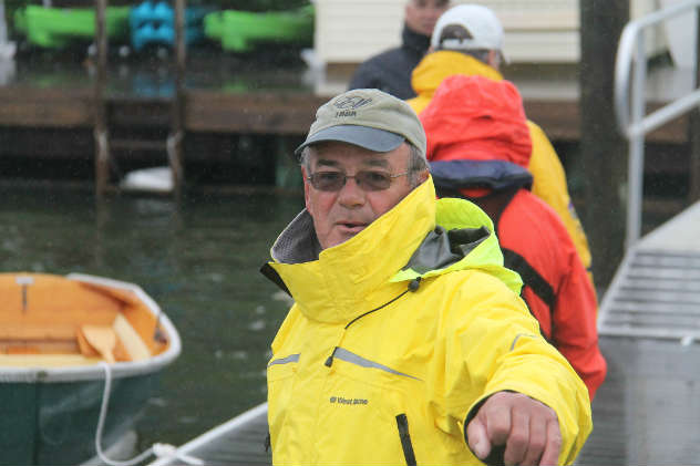 Rick Carrion, who started the Classic Yacht Restoration Guild to restore the racing yacht Elf. He founded this event.