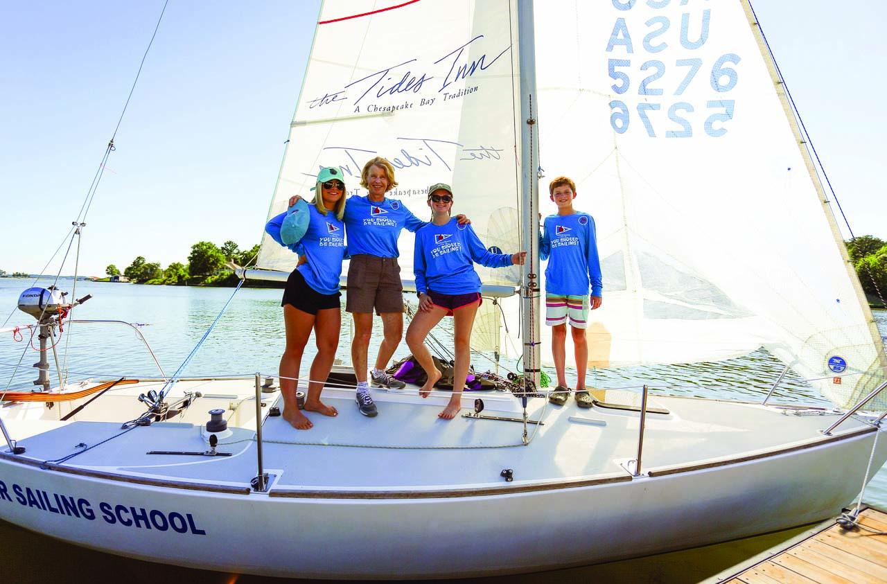 sailing instructors on J/24