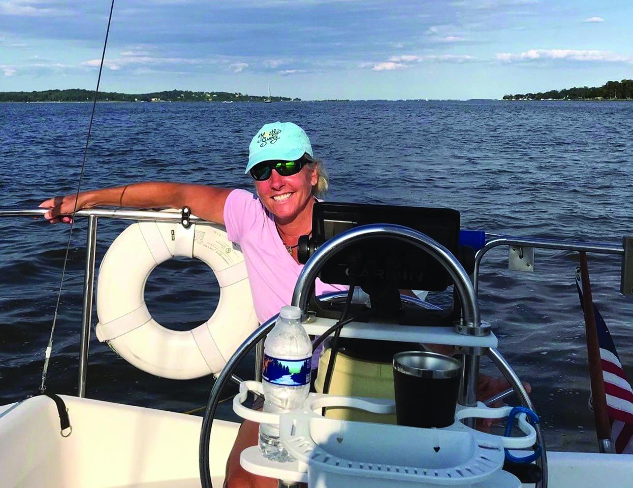 Valerio sailing