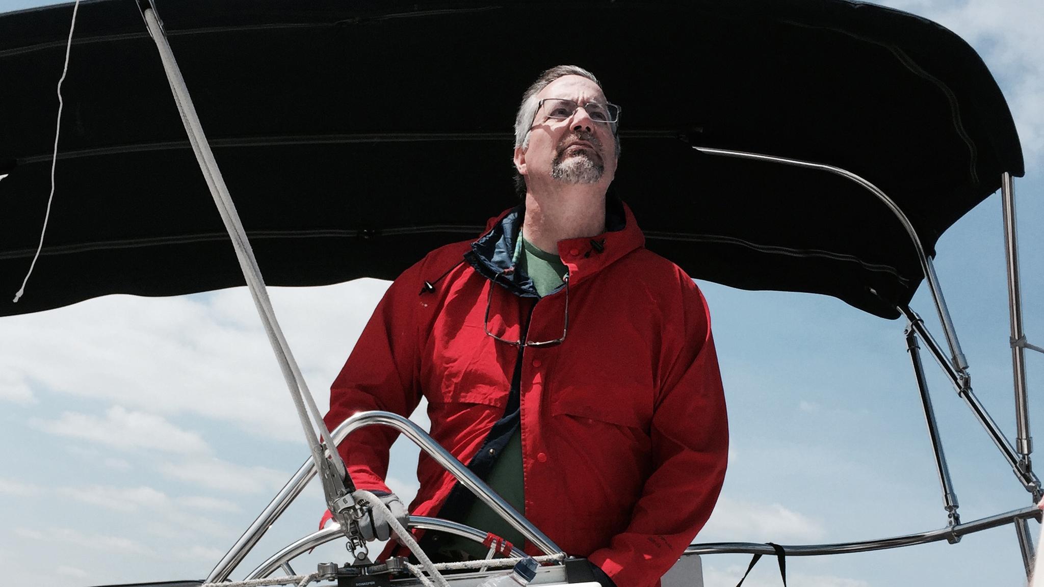 Sailing became a passion for Tom and Christine