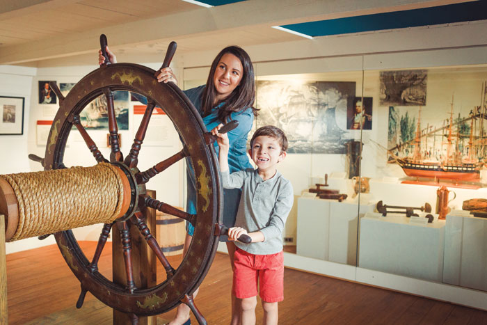 Connect with the water and our shared maritime heritage at a maritime museum. Photo courtesy the Mariners' Museum