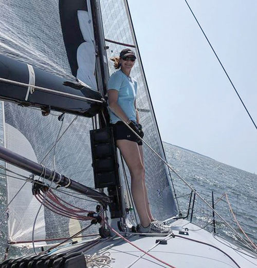 Sailing expanded Meagan Bryant's bucket list.