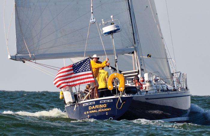 USNA sailboat DARING