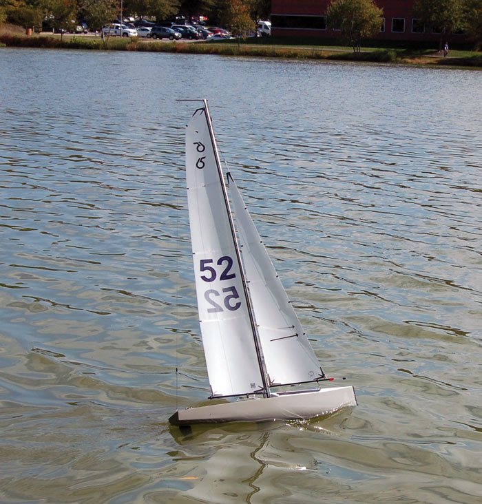 RC sailing has become popular over the years because it is fun and quite satisfying. Photo courtesy of Richmond Model Yacht Club