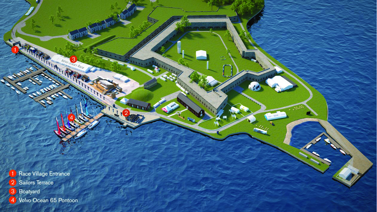 Newport Race Village at Fort Adams State Park