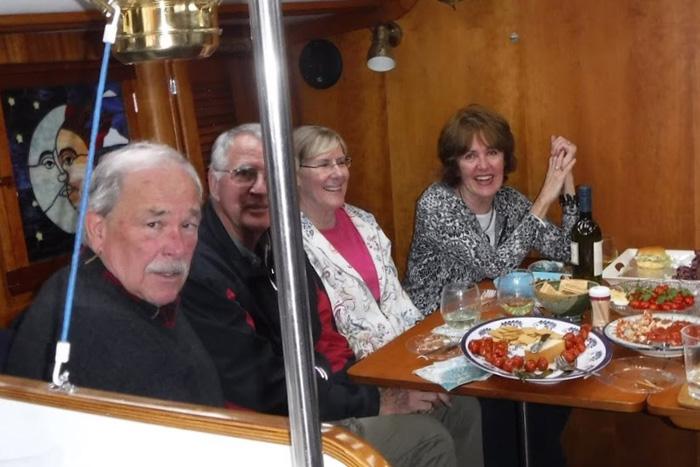 John Herron, Bill Reichhardt, Jeanne Michaels and Sharon Murray