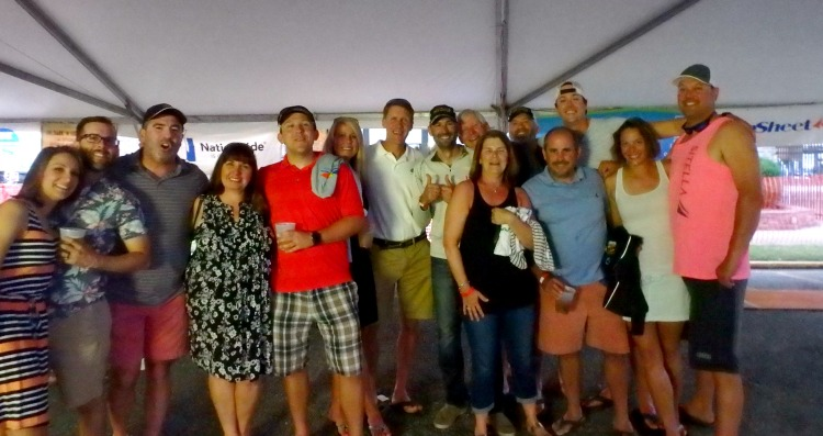 Solomons sailors unite in Hampton!
