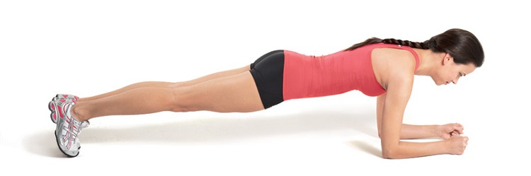 The classic plank -- it may not look like much, but you'll immediately feel how it engages muscles everywhere. -- pitfitness.com
