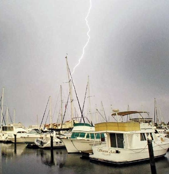 Are you the type of sailor who boasts about sailing in foul weather? Are you prepared for a real emergency? Photo by Al Ponzio
