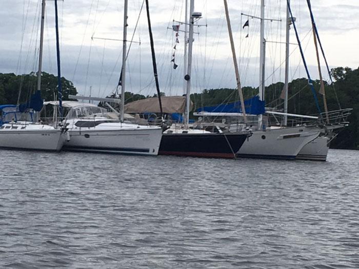 Sailing Chavurah Chestertown Raftup