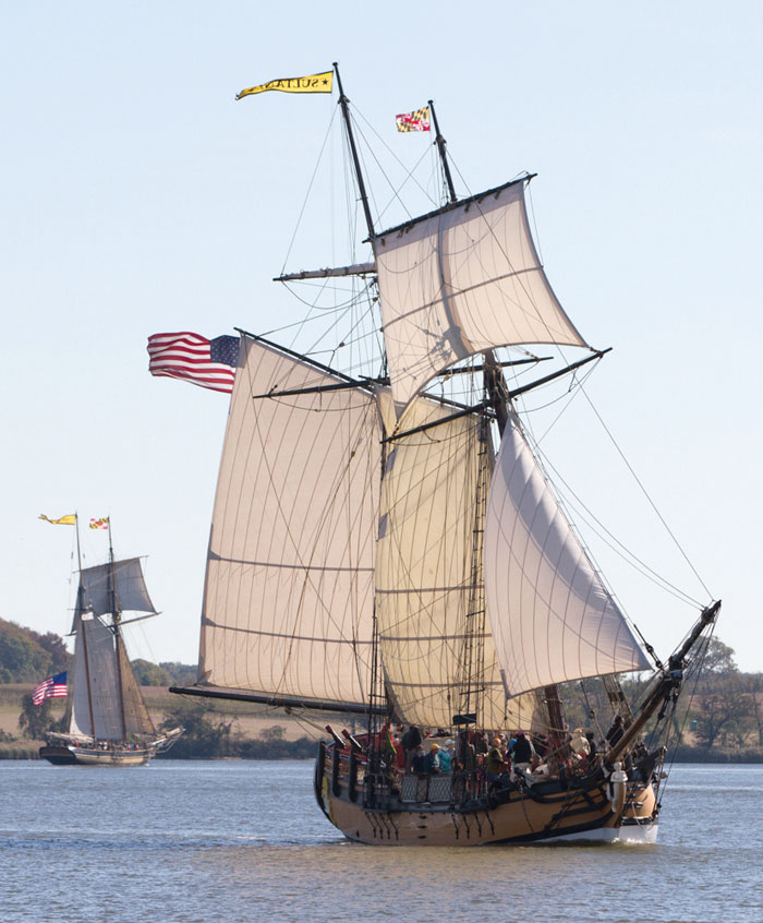 The replica Schooner Sultana was completed in 2001. Photo by Eric Moseson
