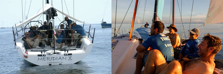 Come on, it's basically the same event. (Volvo photo by Amory Ross/Vestas 11th Hour Racing