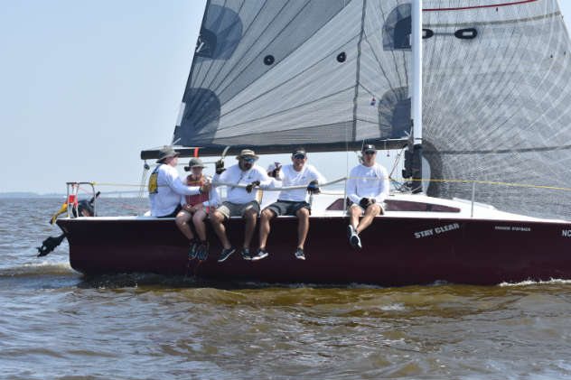 2018 Down the Bay Race Photo by Heather Capezio/ SpinSheet