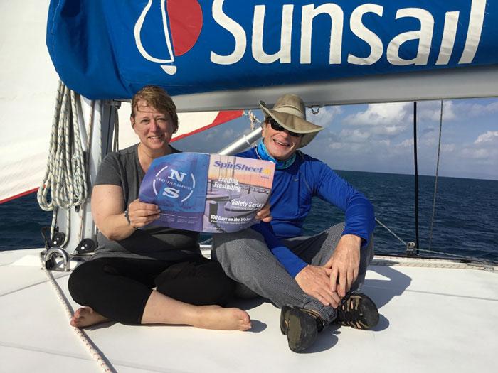 SOS bareboat Sunsail cruise