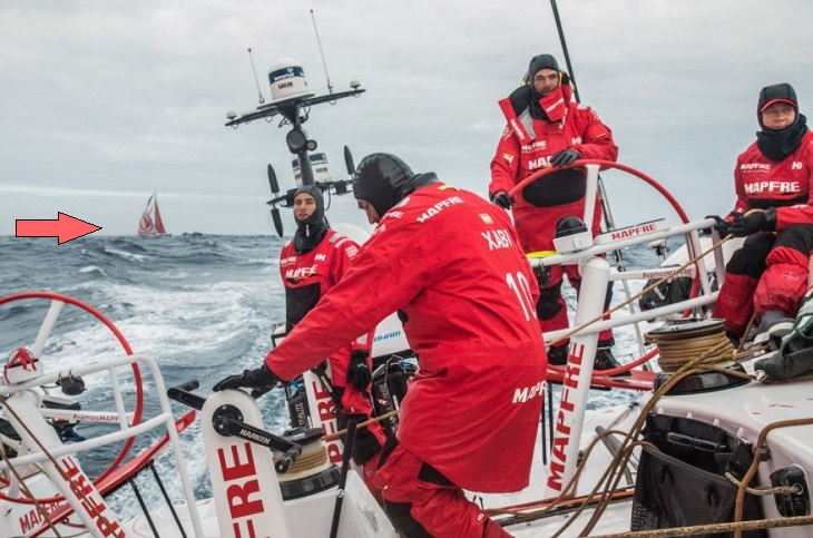 After Eight Days and 3,000+ Miles, MAPFRE and Dongfeng Are Still This Close