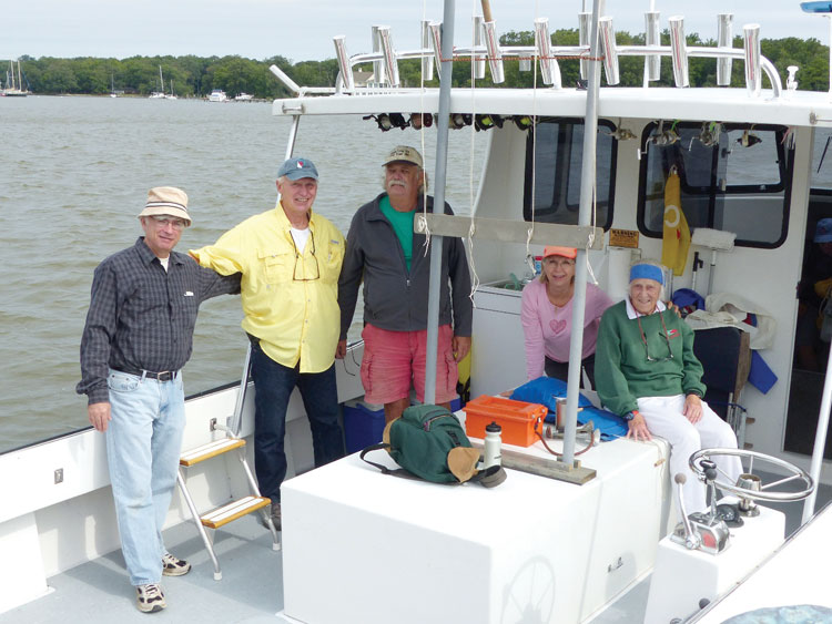 West River Sailing Club race committee support.