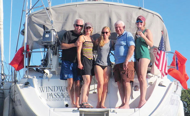 Club members enjoyed warm, summer-like weather for the September raftup.
