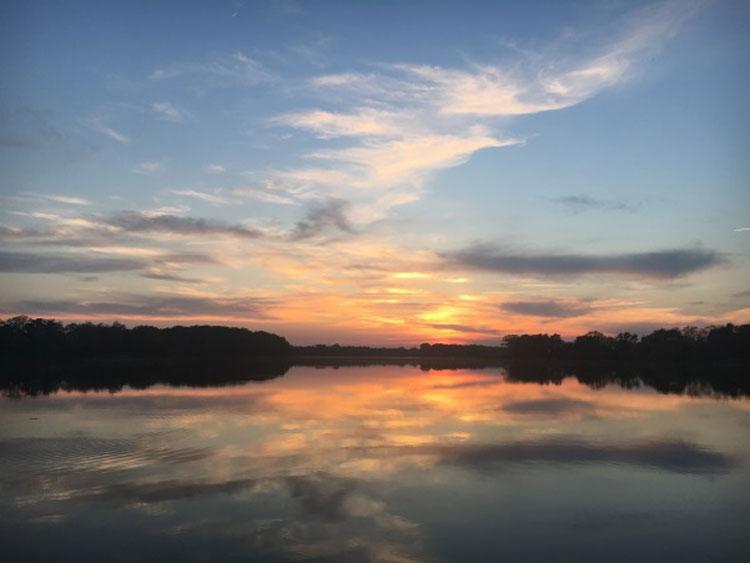 Wye River Sunset