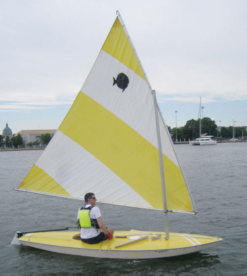 Sunfish will be sailing Tuesday nights in Annapolis this summer.