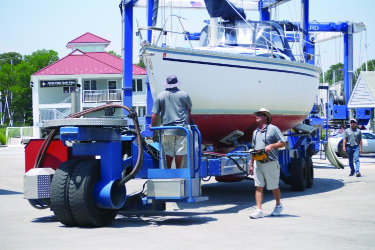 bert jabins yacht yard